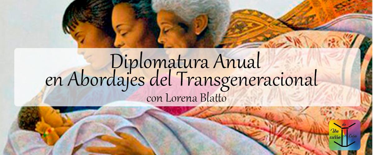 Diplomatura Anual Abordajes del Trasgeneracional