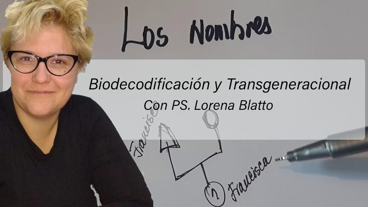 Biodecodificación y Transgeneracional